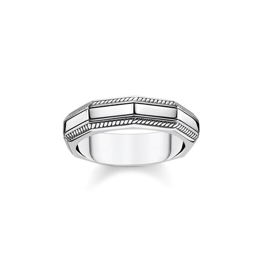 ring Angular silver from the  collection in the THOMAS SABO online store