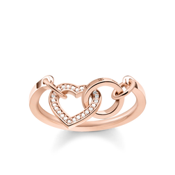 "bague ""Cœur TOGETHER"" de la collection Glam & Soul dans la boutique en ligne de THOMAS SABO"