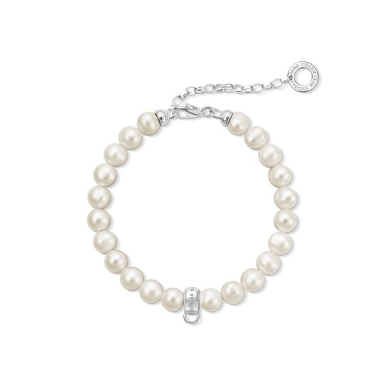 Charm bracelet pearls from the Charm Club collection in the THOMAS SABO online store