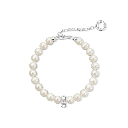 bracelet Charm avec perle de la collection Charm Club dans la boutique en ligne de THOMAS SABO