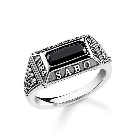 "bague ""College Ring"" de la collection Rebel at heart dans la boutique en ligne de THOMAS SABO"