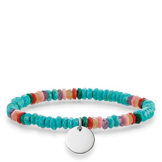 """bracelet """"Boho turquoise"""" from the Love Bridge collection in the THOMAS SABO online store"""