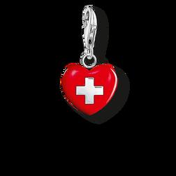 """Charm-Anhänger """"Herz Schweiz"""" aus der  Kollektion im Online Shop von THOMAS SABO"""