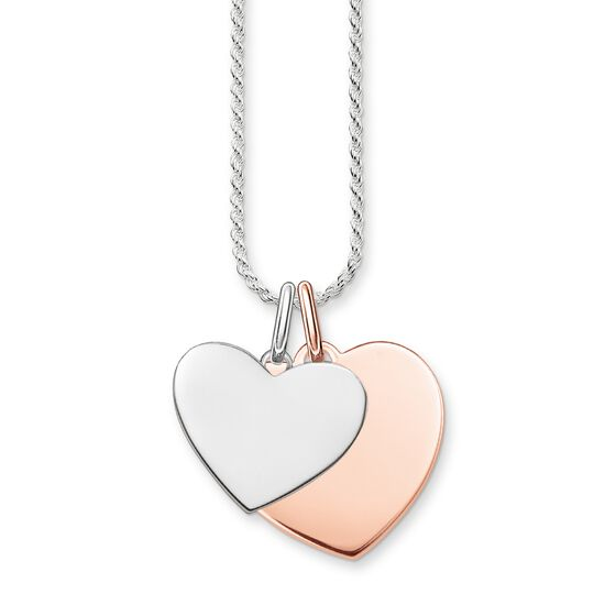 necklace hearts from the  collection in the THOMAS SABO online store