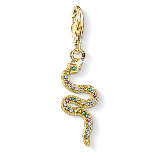 Charm pendant Colourful snake from the Glam & Soul collection in the THOMAS SABO online store
