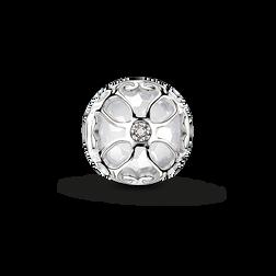 """Bead """"Weiße Lotos Blüte"""" aus der Karma Beads Kollektion im Online Shop von THOMAS SABO"""