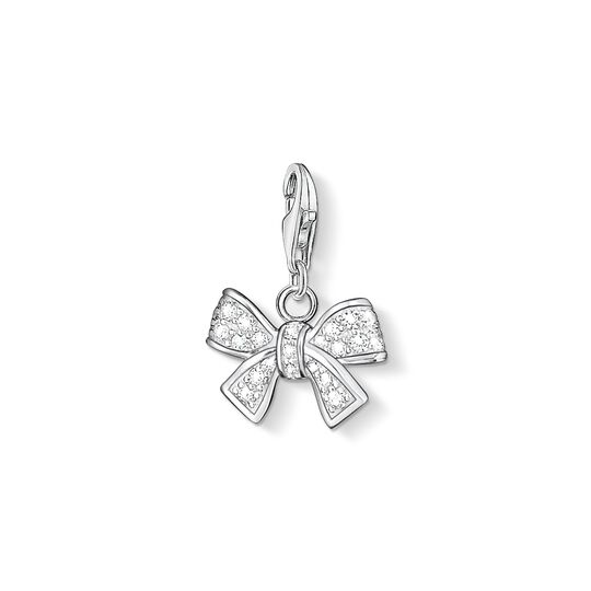 Charm pendant bow from the Charm Club collection in the THOMAS SABO online store