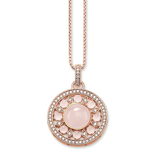"""necklace """"pink ornament"""" from the Glam & Soul collection in the THOMAS SABO online store"""