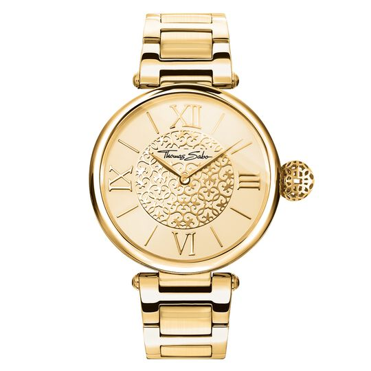 women's watch golden Ornaments – WA0308-264-207 – THOMAS SABO