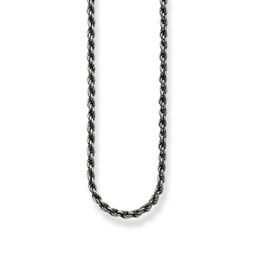 """cadena cordel """"ennegrecida"""" de la colección Glam & Soul en la tienda online de THOMAS SABO"""