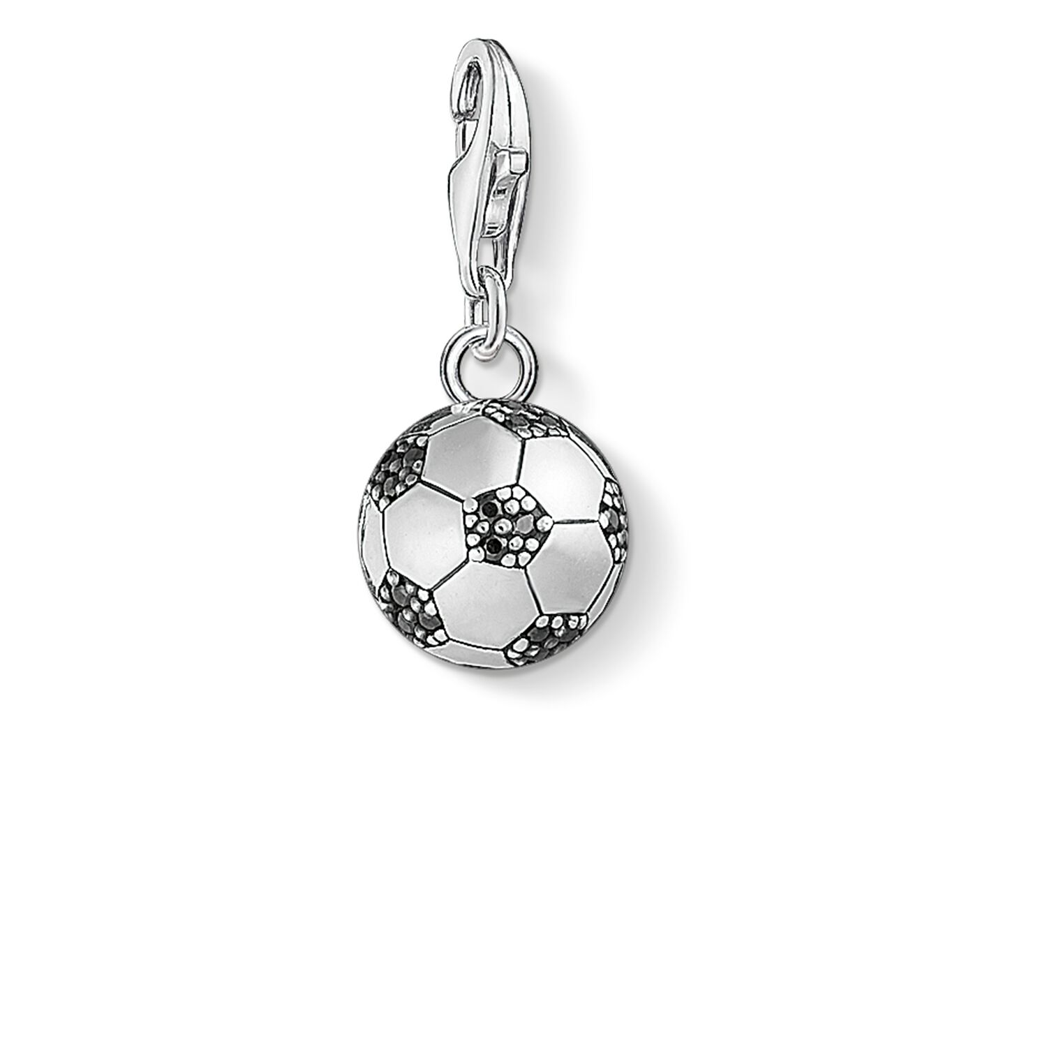 s football of p picture caffeine pendant science sterling silver engraved coffee molecule necklace