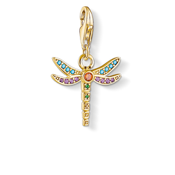 "ciondolo Charm ""libellula"" from the  collection in the THOMAS SABO online store"