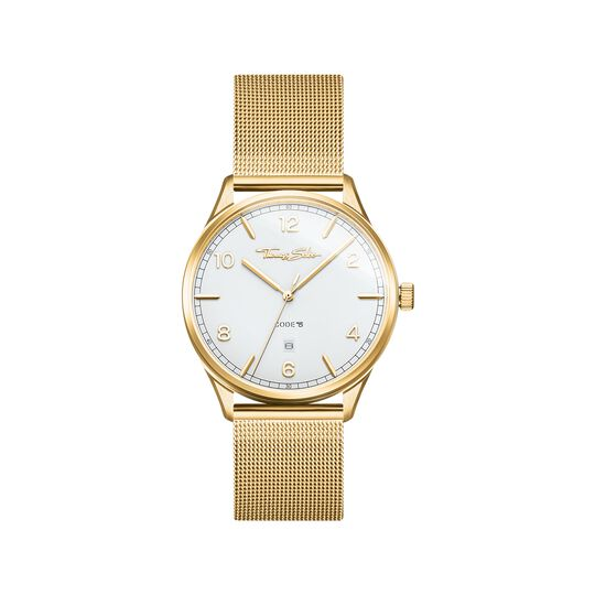 Montre unisexe CODE TS or jaune de la collection  dans la boutique en ligne de THOMAS SABO