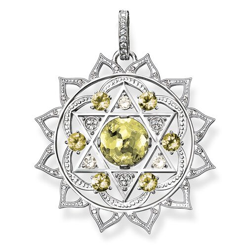 "pendant ""heart chakra"" from the Chakras collection in the THOMAS SABO online store"