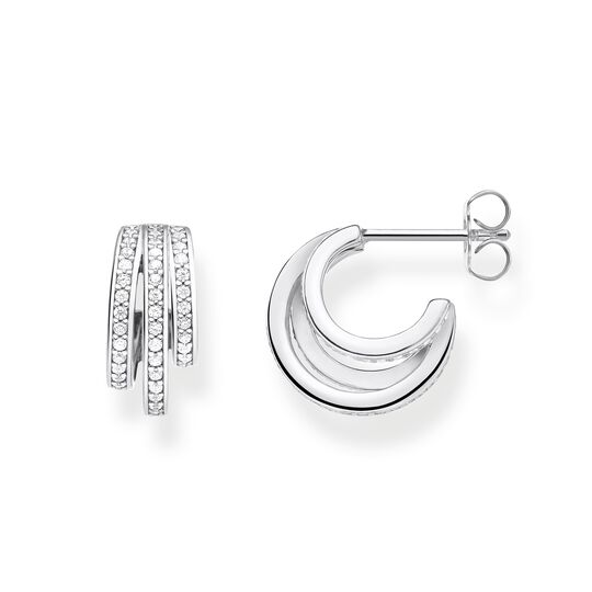 hoop earrings silver rings from the Glam & Soul collection in the THOMAS SABO online store