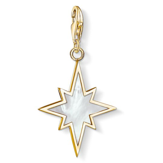 Charm pendant star mother-of-pearl from the Charm Club collection in the THOMAS SABO online store