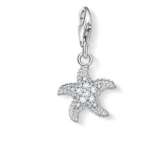 Charm pendant starfish from the  collection in the THOMAS SABO online store