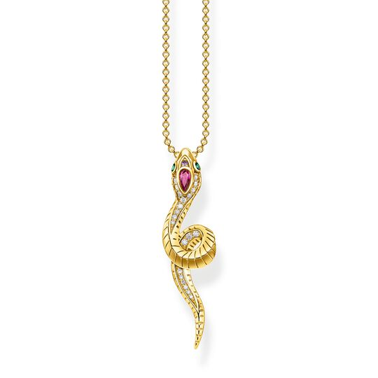 Necklace snake gold from the  collection in the THOMAS SABO online store