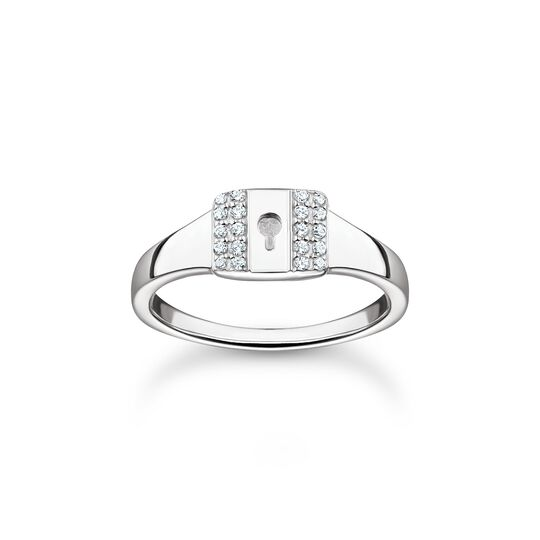 Ring lock silver from the Charming Collection collection in the THOMAS SABO online store