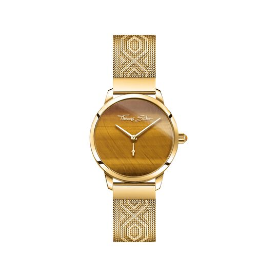 women's watch Garden Spirit tiger's eye gold from the  collection in the THOMAS SABO online store