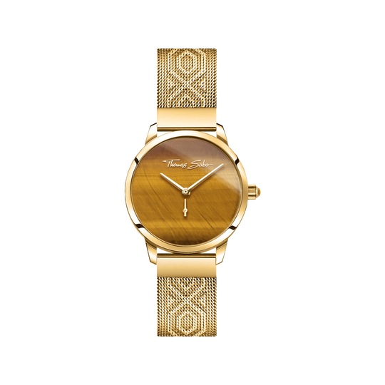 women's watch Garden Spirit tiger's eye gold from the Glam & Soul collection in the THOMAS SABO online store