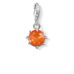 Charm pendant birth stone January from the Glam & Soul collection in the THOMAS SABO online store