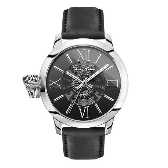 montre pour homme rebel with karma wa0295 hommes thomas sabo france. Black Bedroom Furniture Sets. Home Design Ideas