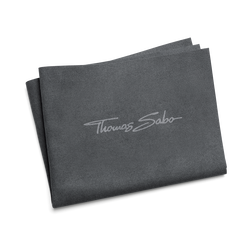 Jewellery cleaning cloth 30 x 24 cm grey microfibre from the  collection in the THOMAS SABO online store