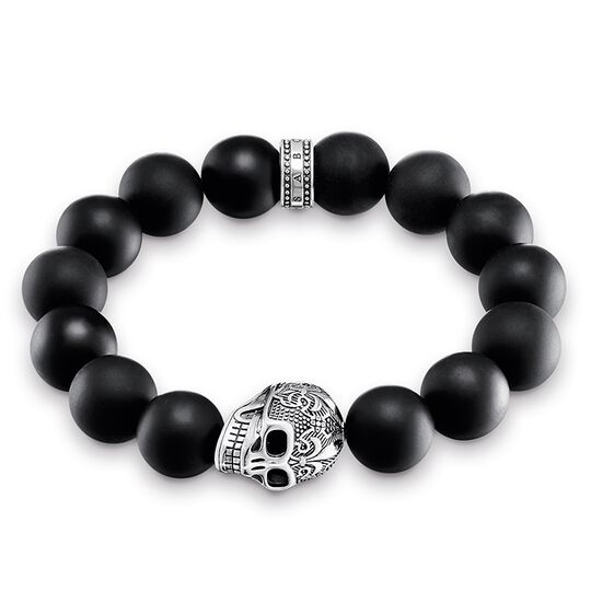Power Bracelet Skull from the Rebel at heart collection in the THOMAS SABO online store