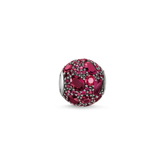 Bead red fire from the Karma Beads collection in the THOMAS SABO online store