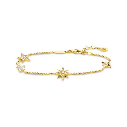 bracelet stars gold from the  collection in the THOMAS SABO online store