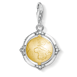 Charm pendant Vintage globe from the Charm Club Collection collection in the THOMAS SABO online store