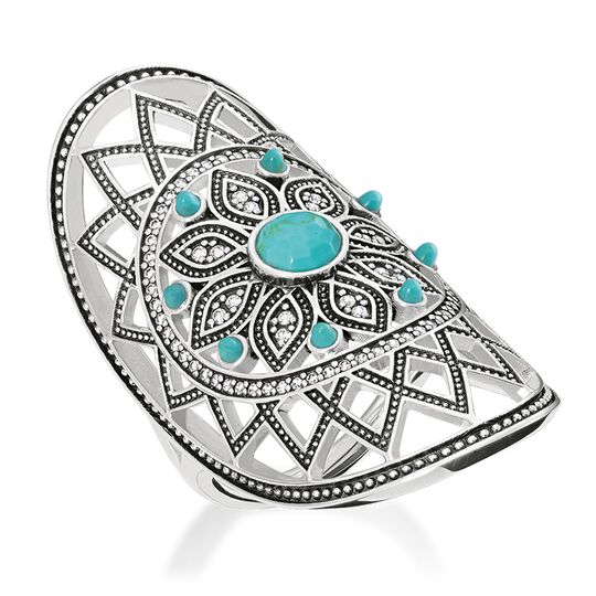 """ring """"ethno dreamcatcher"""" from the Glam & Soul collection in the THOMAS SABO online store"""