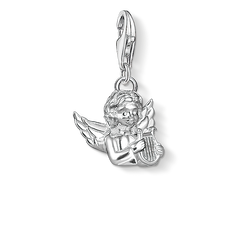 Charm pendant Angel with lyre from the  collection in the THOMAS SABO online store