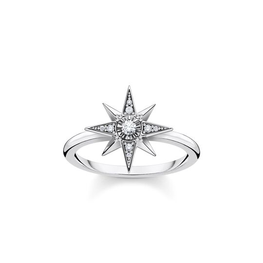 Ring star silver from the  collection in the THOMAS SABO online store