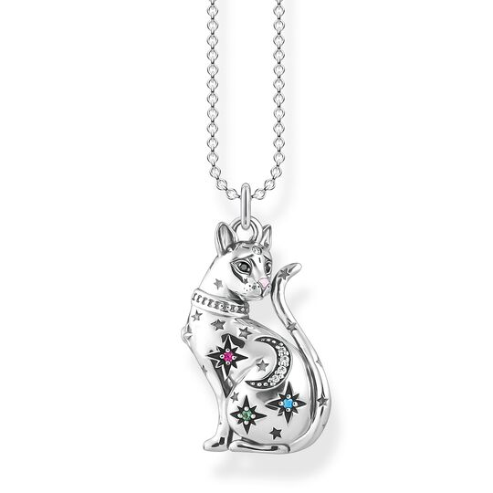 necklace cat constellation silver from the  collection in the THOMAS SABO online store