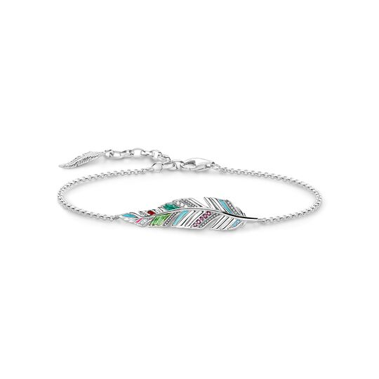 bracelet feather from the  collection in the THOMAS SABO online store