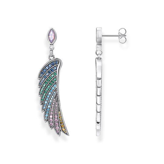 Örhängen färggrann kolibri, vingar silver ur kollektionen  i THOMAS SABO:s onlineshop