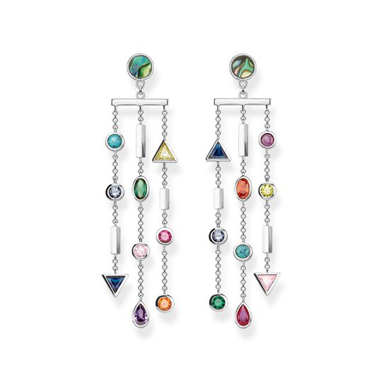 earrings colourful stones from the  collection in the THOMAS SABO online store