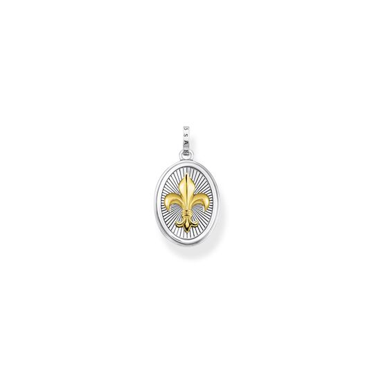 Pendant fleur-de-lis gold from the  collection in the THOMAS SABO online store