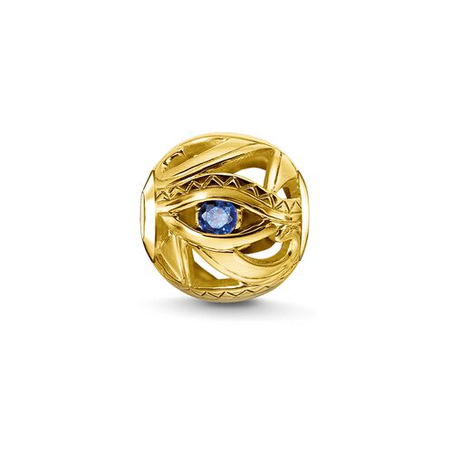 """Bead """"eye of Horus"""" from the Karma Beads collection in the THOMAS SABO online store"""