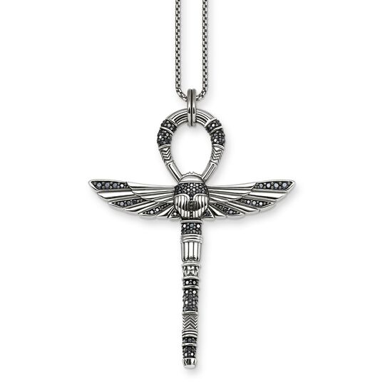 necklace cross of life ankh with scarab from the  collection in the THOMAS SABO online store