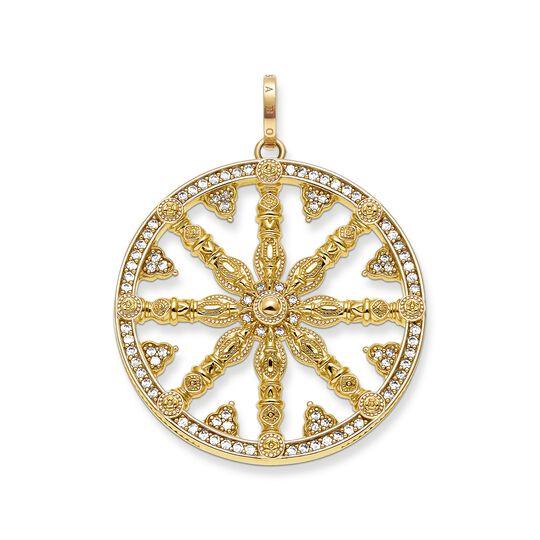 Anhänger Karma Wheel Pavé aus der Karma Beads Kollektion im Online Shop von THOMAS SABO