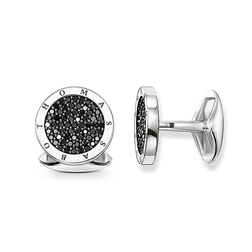"cufflinks ""diamond pavé"" from the Rebel at heart collection in the THOMAS SABO online store"
