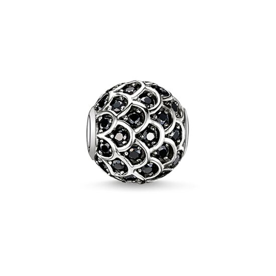 "Bead ""black fish"" from the Karma Beads collection in the THOMAS SABO online store"