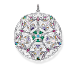pendant amulet kaleidoscope dragonfly silver from the Glam & Soul collection in the THOMAS SABO online store