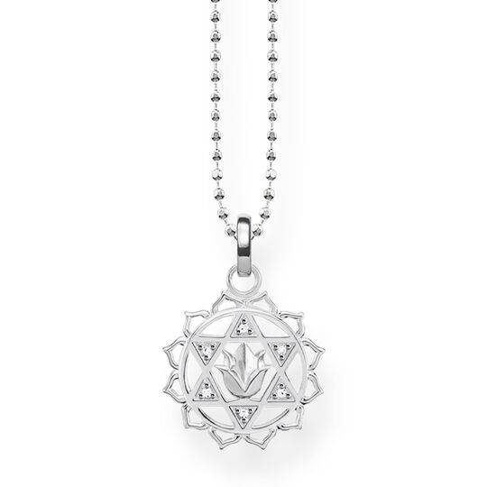 """necklace """"heart chakra"""" from the Glam & Soul collection in the THOMAS SABO online store"""