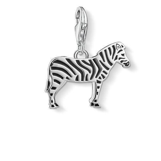 ciondolo Charm zebra from the  collection in the THOMAS SABO online store