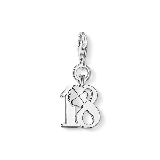 Charm pendant lucky number 18 from the Charm Club collection in the THOMAS SABO online store