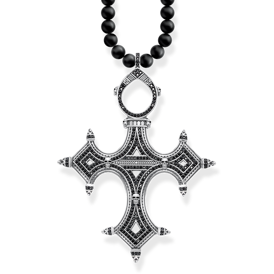 necklace ethno cross from the Rebel at heart collection in the THOMAS SABO online store